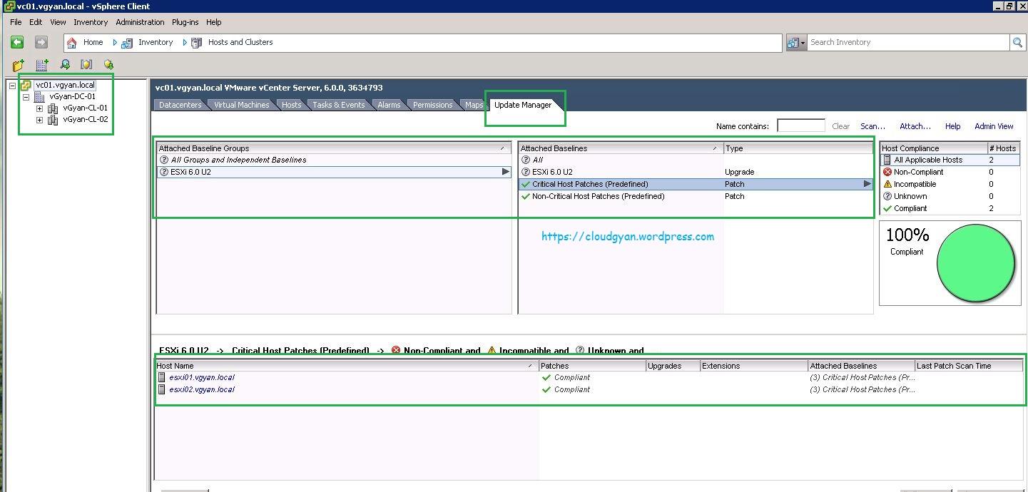 Windows vCenter 6 0 to VCSA 6 5 with VUM - vGyan in