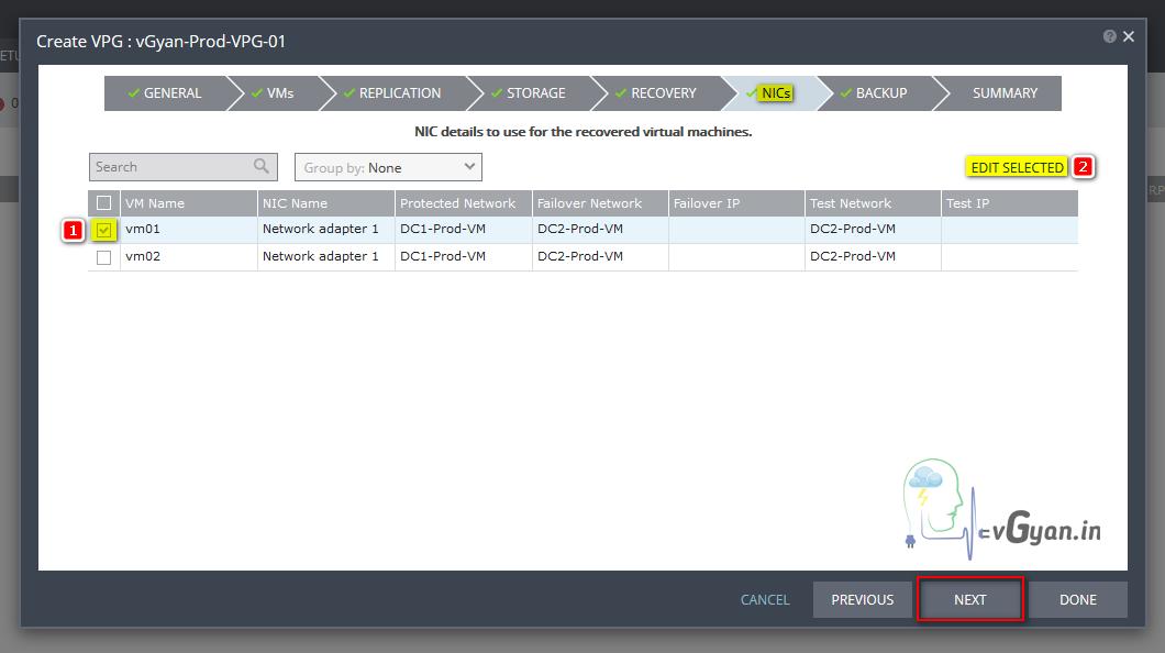 Zerto Part 4 - Configuring Zerto Virtual Protection Groups VPG