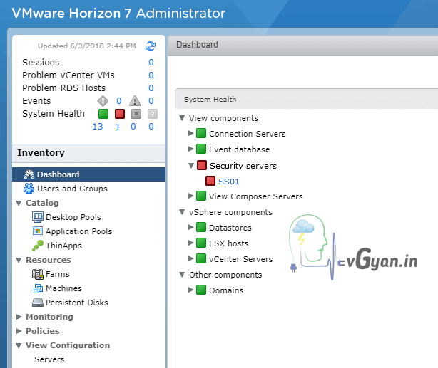 Horizon View 75 Replace Ssl Certificate On View Security Server